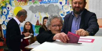 Nonna Luisa al voto