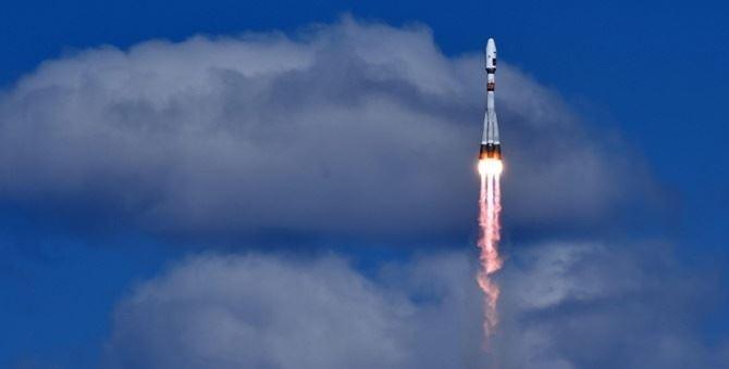 Una sonda durante il lancio nello spazio