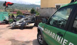 Montalto Uffugo, sequestrata officina meccanica abusiva