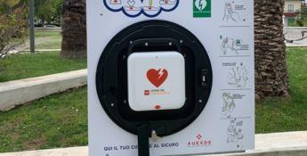 Praia città cardioprotetta: installati 15 defibrillatori semi-automatici