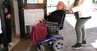 """Lamezia off limits per i disabili, """"vietata"""" anche sede dei Servizi sociali"""