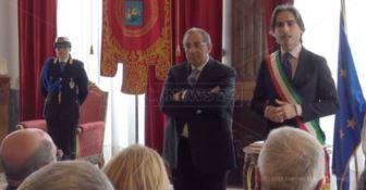 Il saluto del prefetto Michele Di Bari a Reggio Calabria