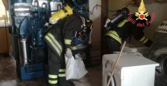 Dispersione di cloro in una lavanderia, tre persone intossicate