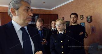 Dopo la condanna, il capo della Polizia rimuove il questore di Vibo Valentia Andrea Grassi