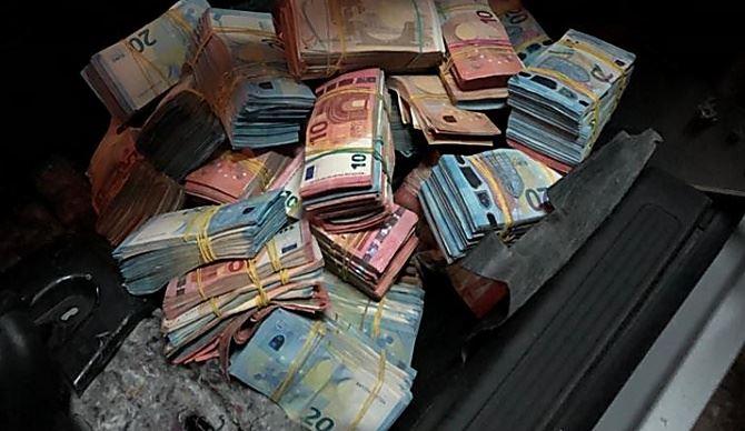 I soldi sequestrati