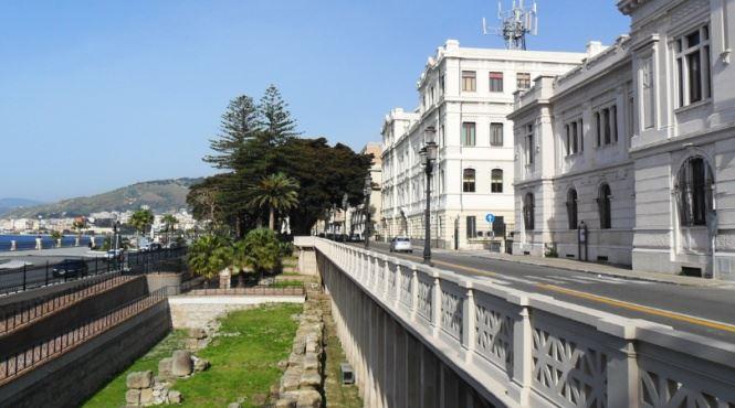 Reggio Calabria, mura greche (foto Reggio Calabria Turismo)