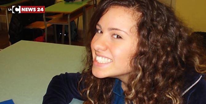 La giovane Valeria Morabito