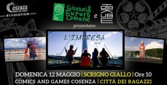 Al Cosenza ComiCs una web series su giovani calabresi