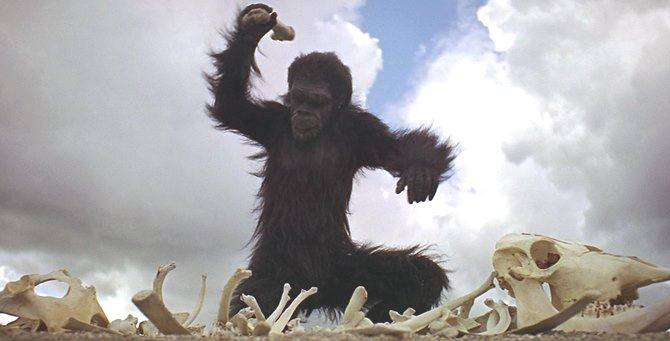 La scimmia di 2001: Odissea nello spazio