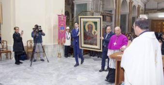 Madonna di Woityla, la copia dell'icona nella basilica di Crotone