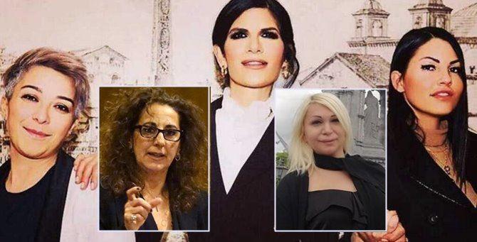 Nella foto principale, Perriciolo, Prati e Michelazzo. Nei riquadri, Wanda Ferro e Alessia Bausone