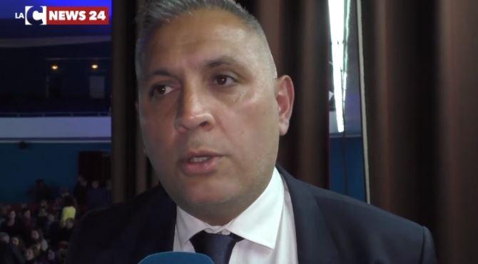 Gioia Tauro, il candidato a sindaco Cangemi