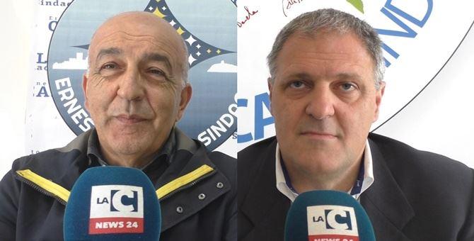 Ernesto Caselli e Marcello Pascale