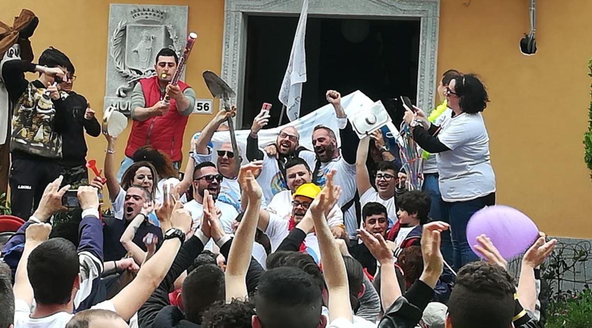 I festeggiamenti di Vincenzo Marino