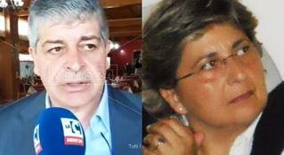 I candidati a sindaco Albi e Gigliotti
