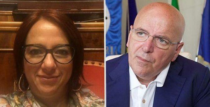 Bianca Laura Granato e Mario Oliverio