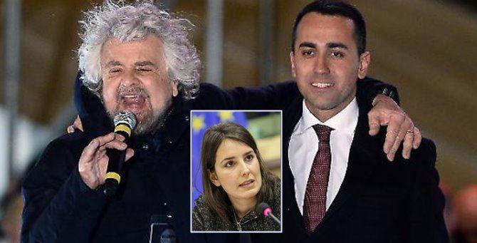 Beppe Grillo, Luigi Di Maio e Laura Ferrara