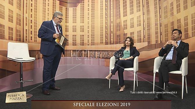 Pubblica Piazza: il direttore Motta, la candidata Staine e il consigliere regionale Bova