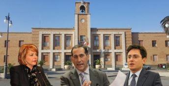 Maria Limardo, Bruno Censore e Stefano Luciano