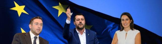 Nesci, Salvini e Ferrara