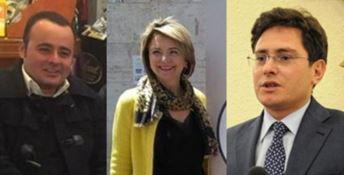 Vito Pitaro, Maria Limardo e Stefano Luciano