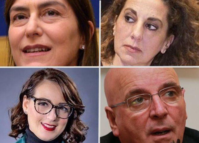 Enza Bruno Bossio, Wanda Ferro, Dalila Nesci, Mario Oliverio