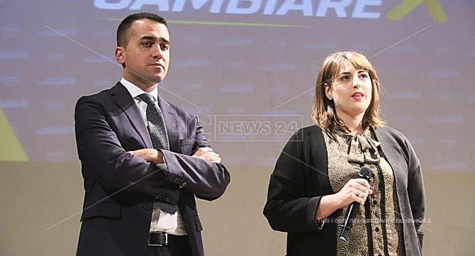 Luigi Di Maio e Dalila Nesci