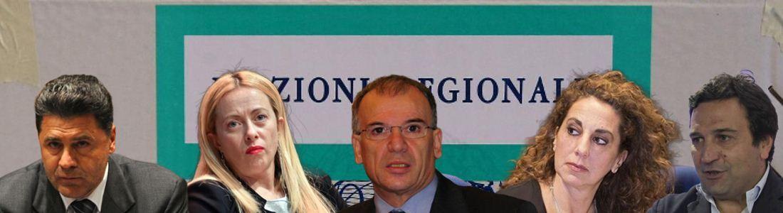 Alessandro Nicolò, Giorgia Meloni, Mimmo Tallini, Wanda Ferro e Fausto Orsomarso