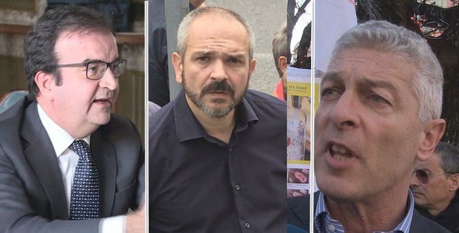 Mario Occhiuto, Giuseppe Cirò e Nicola Morra