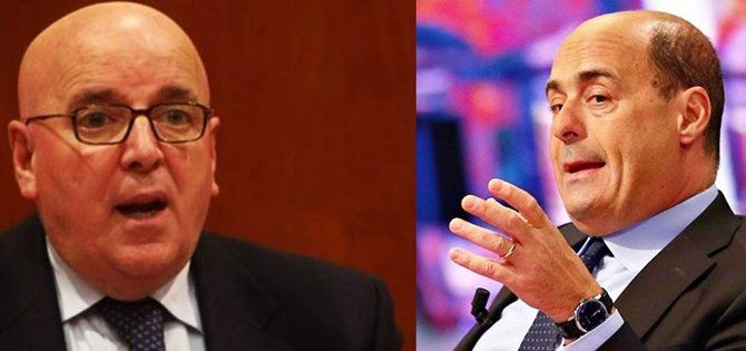 Il presidente Oliverio e il segretario Zingaretti
