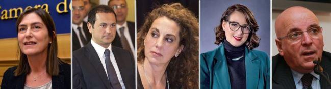 Enza Bruno Bossio, Marco Siclari, Wanda Ferro, Dalila Nesci, Mario Oliverio