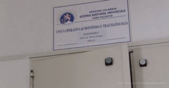 Scongiurata la chiusura del reparto di Ortopedia di Vibo, in arrivo tre medici