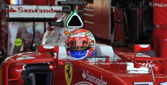 Antonio Fuoco su Ferrari