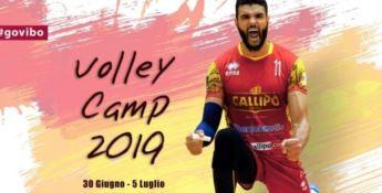 Volley Camp, a scuola di pallavolo con la Tonno Callipo