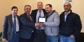 Premiato il titolare del bar di Dinami, Giuseppe Mercuri