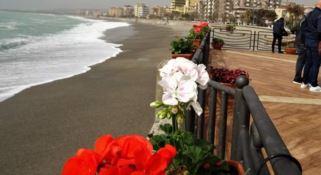 Piante e fiori per ricordare Matteo sulla terrazza di Catanzaro Lido