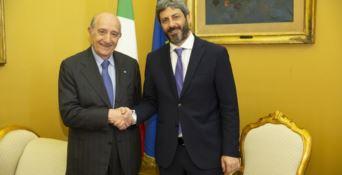 Francesco Samengo e Roberto Fico