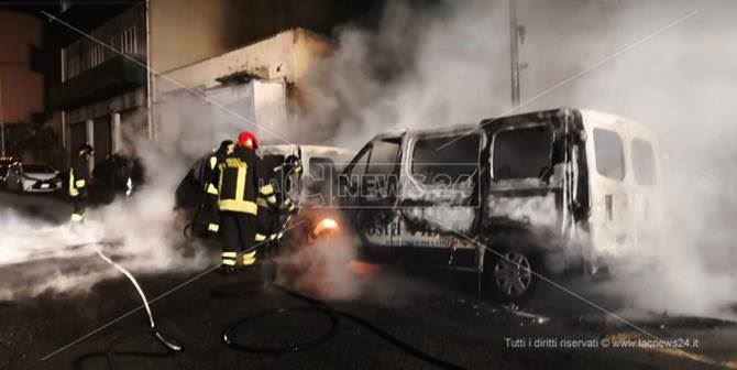 Incendio a Reggio Calabria