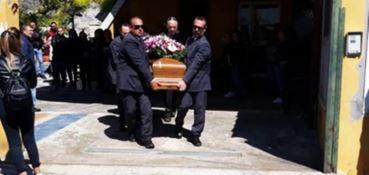 I funerali di Romina