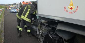 Grave incidente stradale sulla A2, interviene l'elisoccorso