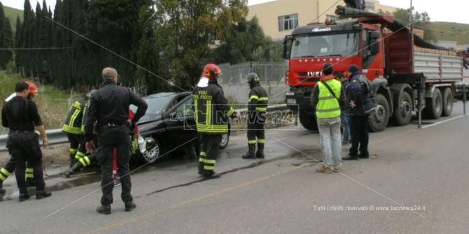 L'incidente mortale a Catanzaro