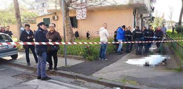 L'agguato a Napoli, foto Ansa