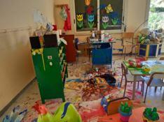 Asilo vandalizzato a Bovalino, l'ira del sindaco e del parroco: «Non è una ragazzata»