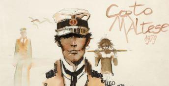 Il viaggio straordinario di Corto Maltese in mostra a Napoli
