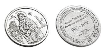 Una medaglia commemorativa per la Madonna di Capocolonna