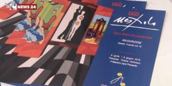 I colori del maestro Ugo Nespolo in una mostra a Cosenza