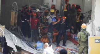 Terremoto alle Filippine, foto Ansa