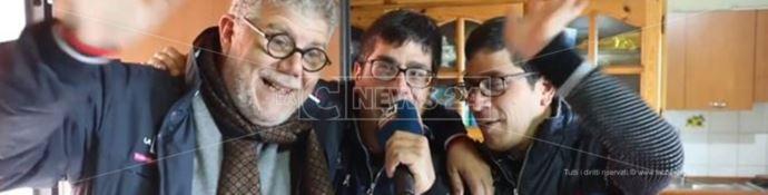 Il direttore Pasquale Motta insieme a Valerio e Stefano