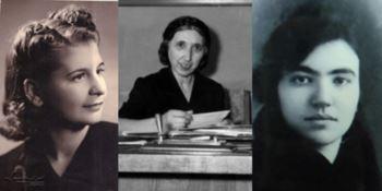 Caterina Tufarelli Palumbo, Lydia Toraldo Serra e Ines Nervi