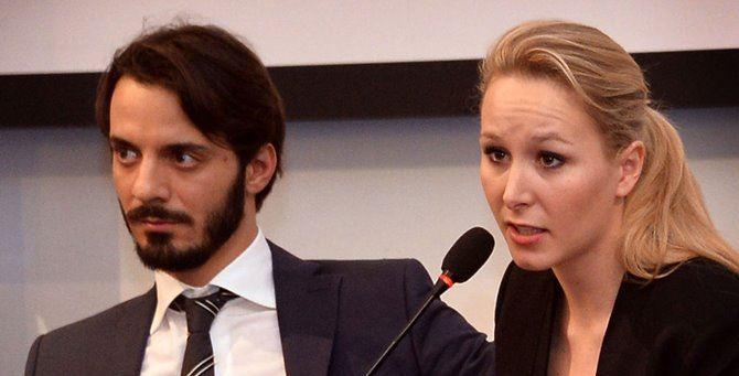 Vincenzo Sofo e Marion Maréchal Le Pen